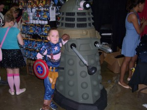 Cap and a Dalek