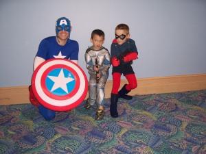 Cap, Jango, and Bucky