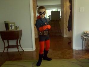 Bucky Costume