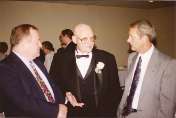 Photo of Carl Diener at Matthew Diener's wedding.